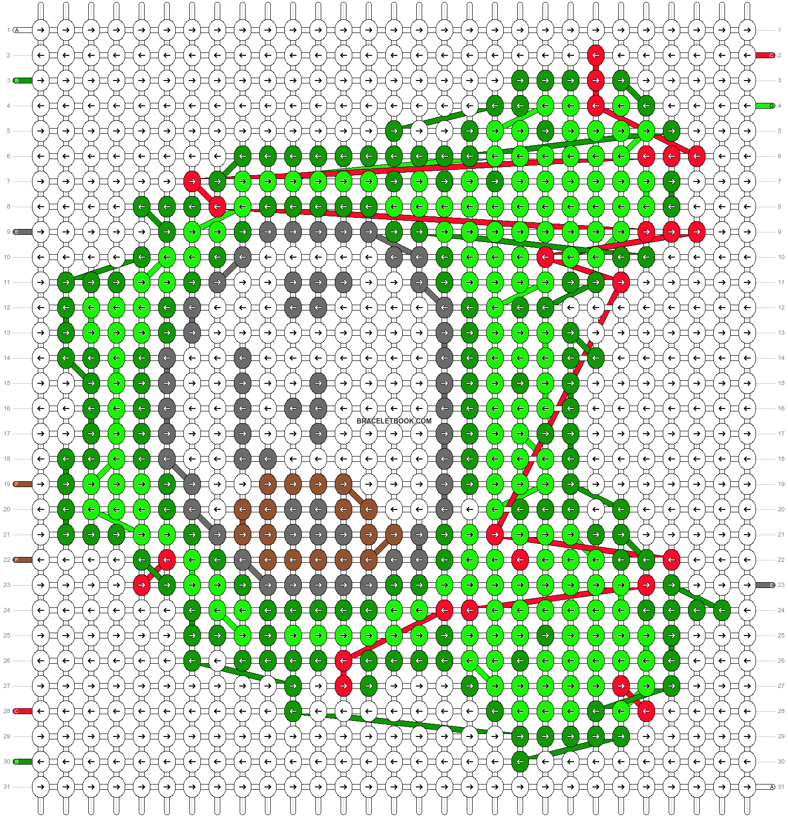 Alpha pattern #8511 pattern