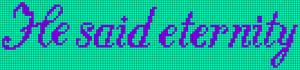 Alpha Friendship Bracelet Pattern #8512