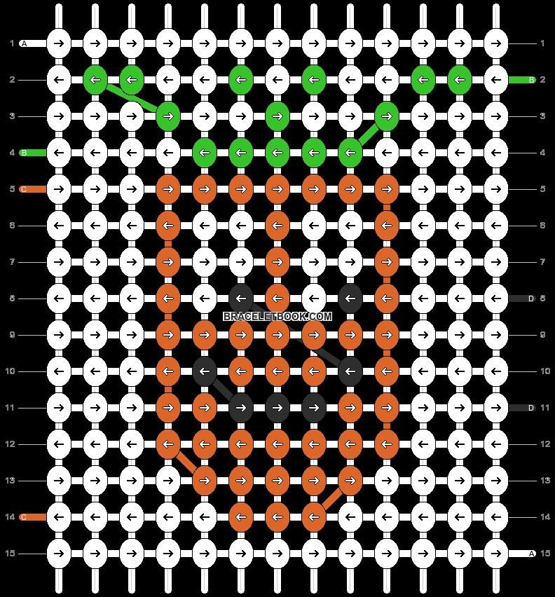 Alpha pattern #8514 pattern