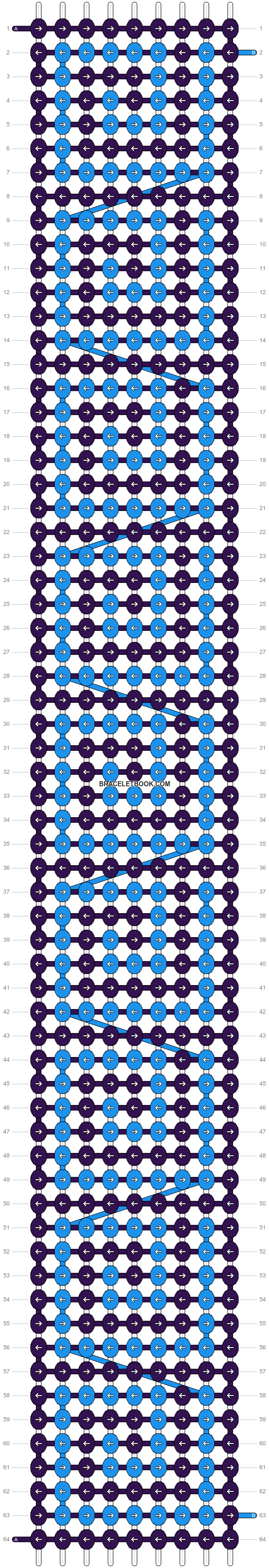 Alpha pattern #8520 pattern