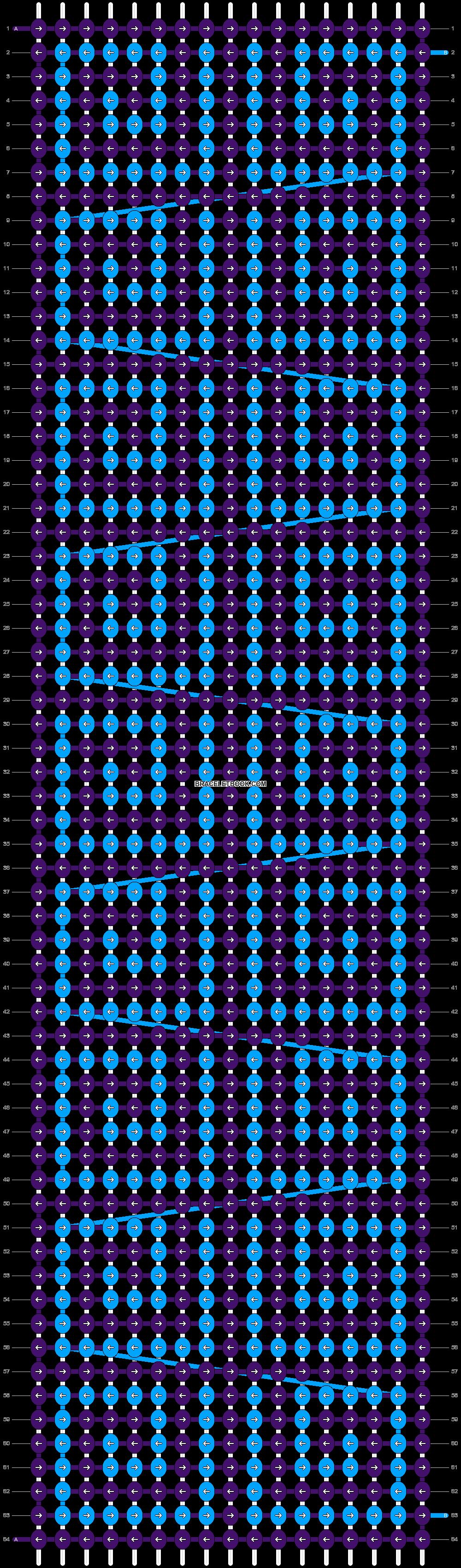 Alpha pattern #8522 pattern