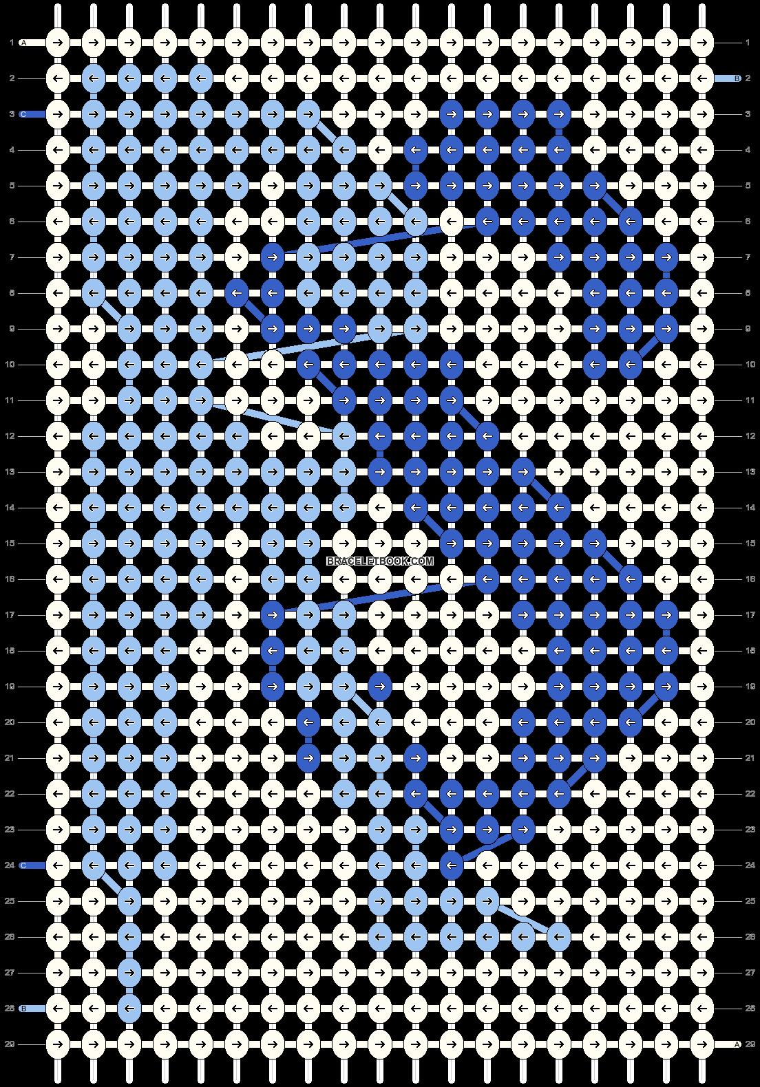 Alpha pattern #8524 pattern