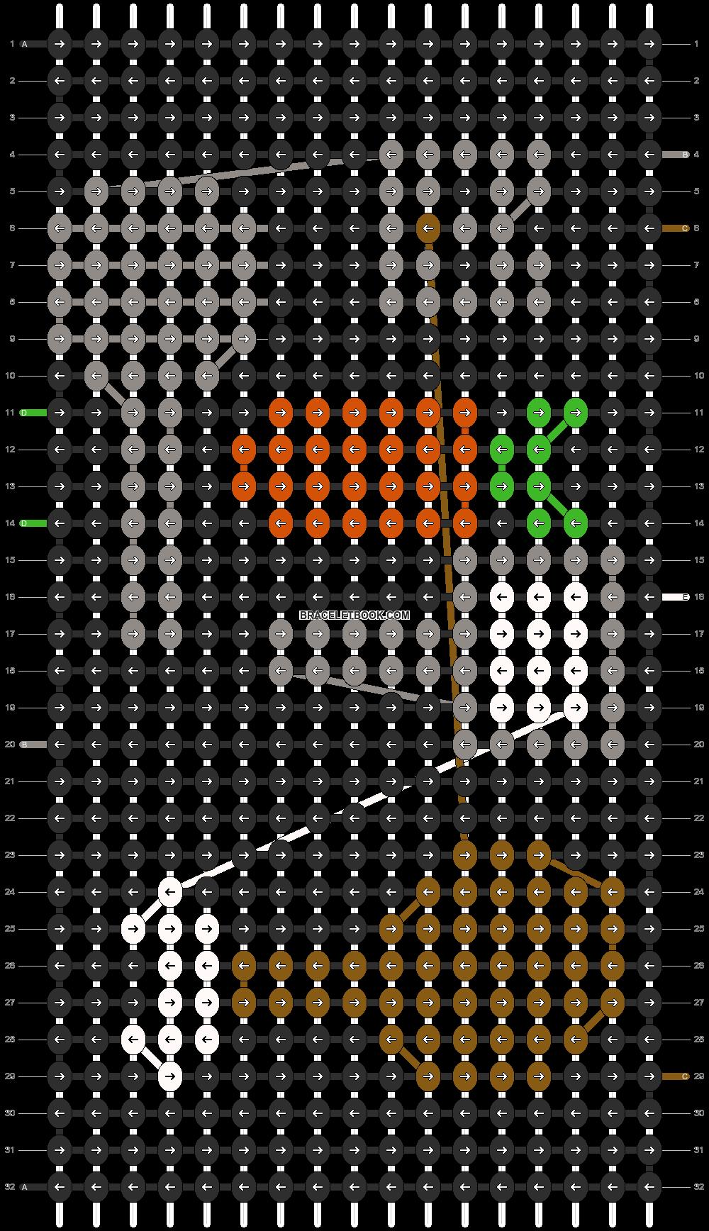 Alpha pattern #8525 pattern