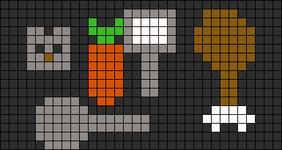 Alpha pattern #8525