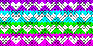 Normal Friendship Bracelet Pattern #8526