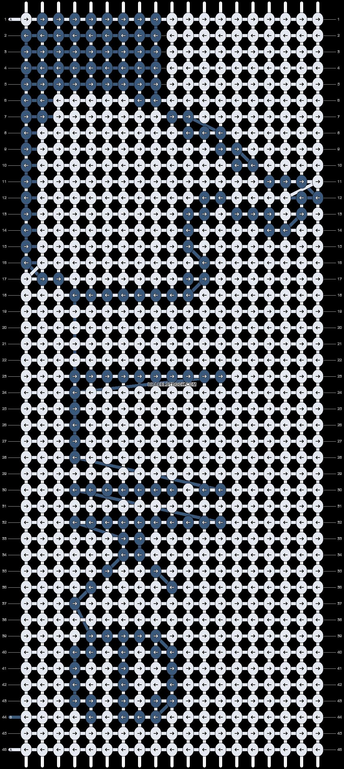 Alpha pattern #8533 pattern