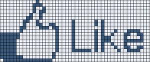 Alpha pattern #8533