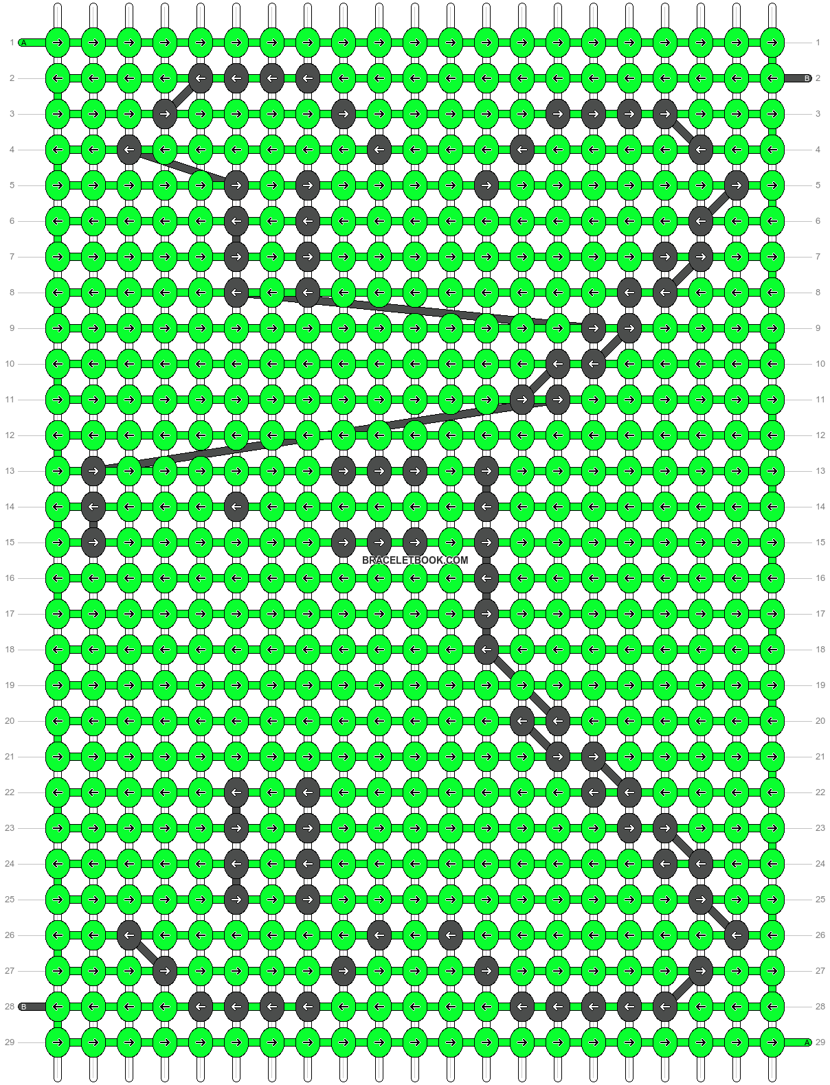 Alpha pattern #8553 pattern