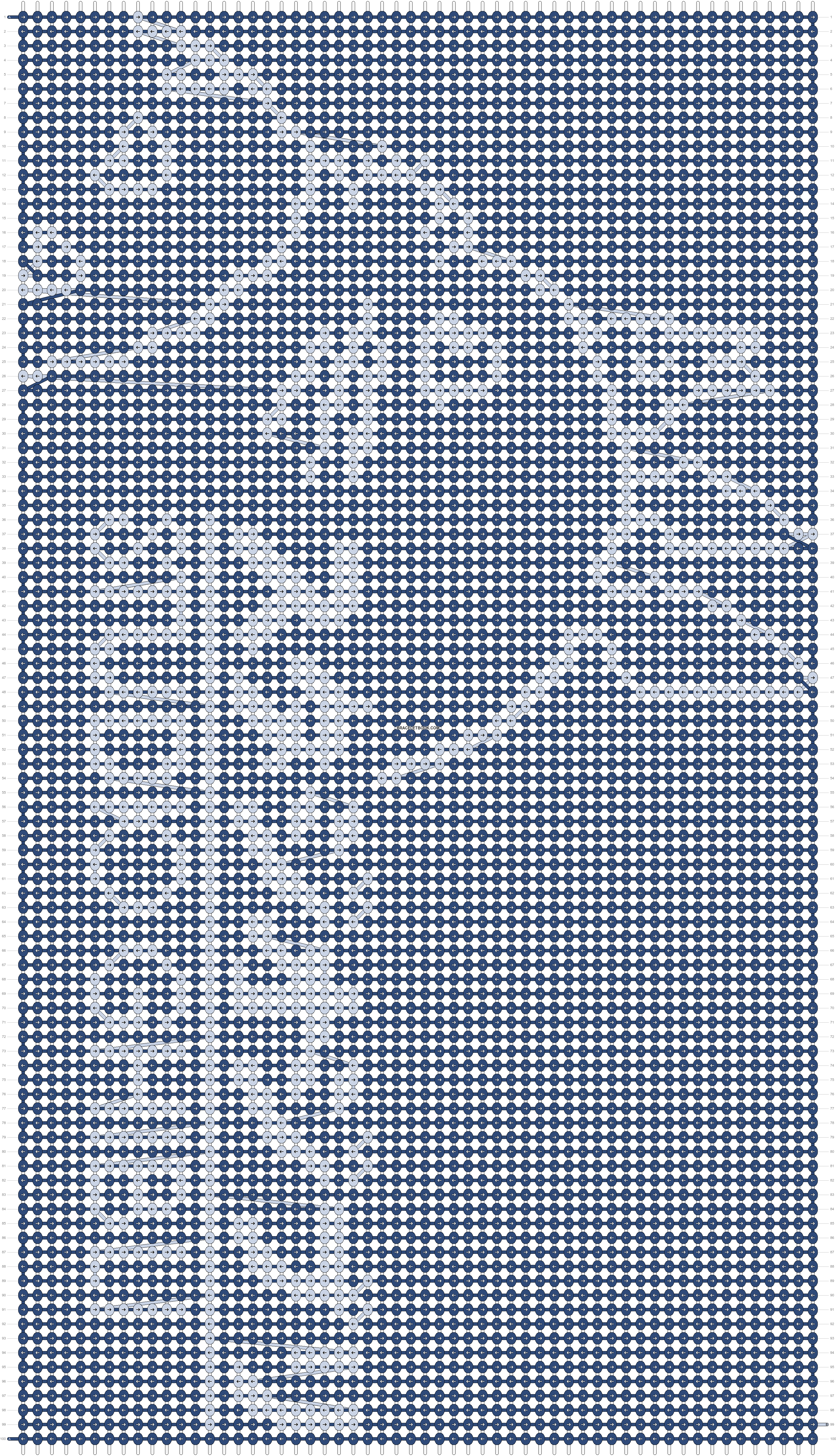 Alpha pattern #8556 pattern