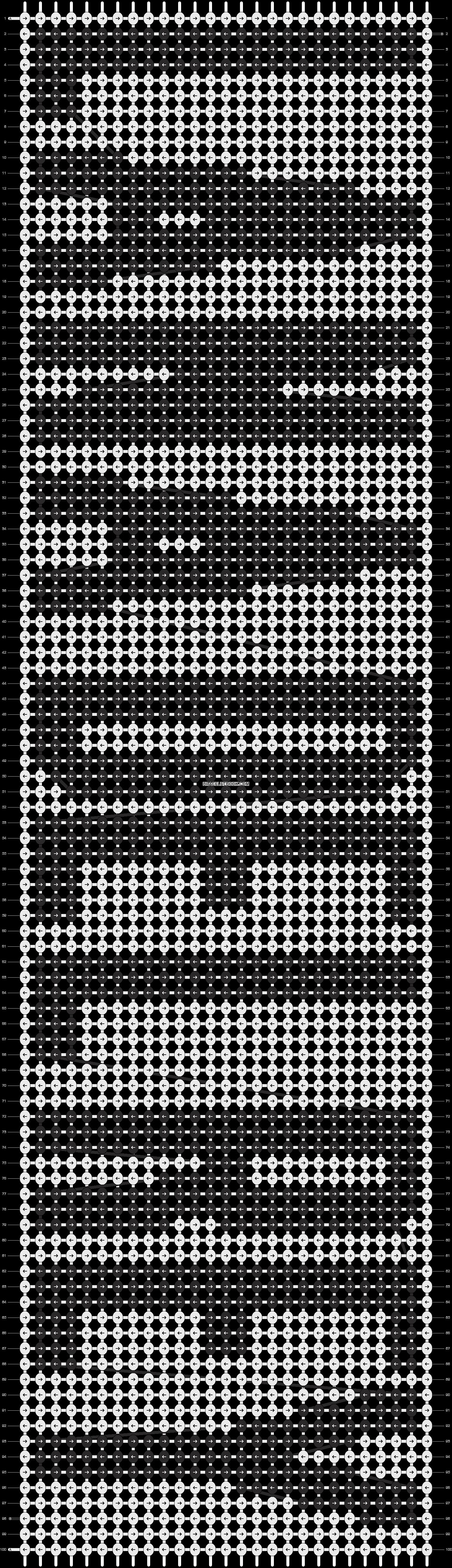 Alpha pattern #8560 pattern