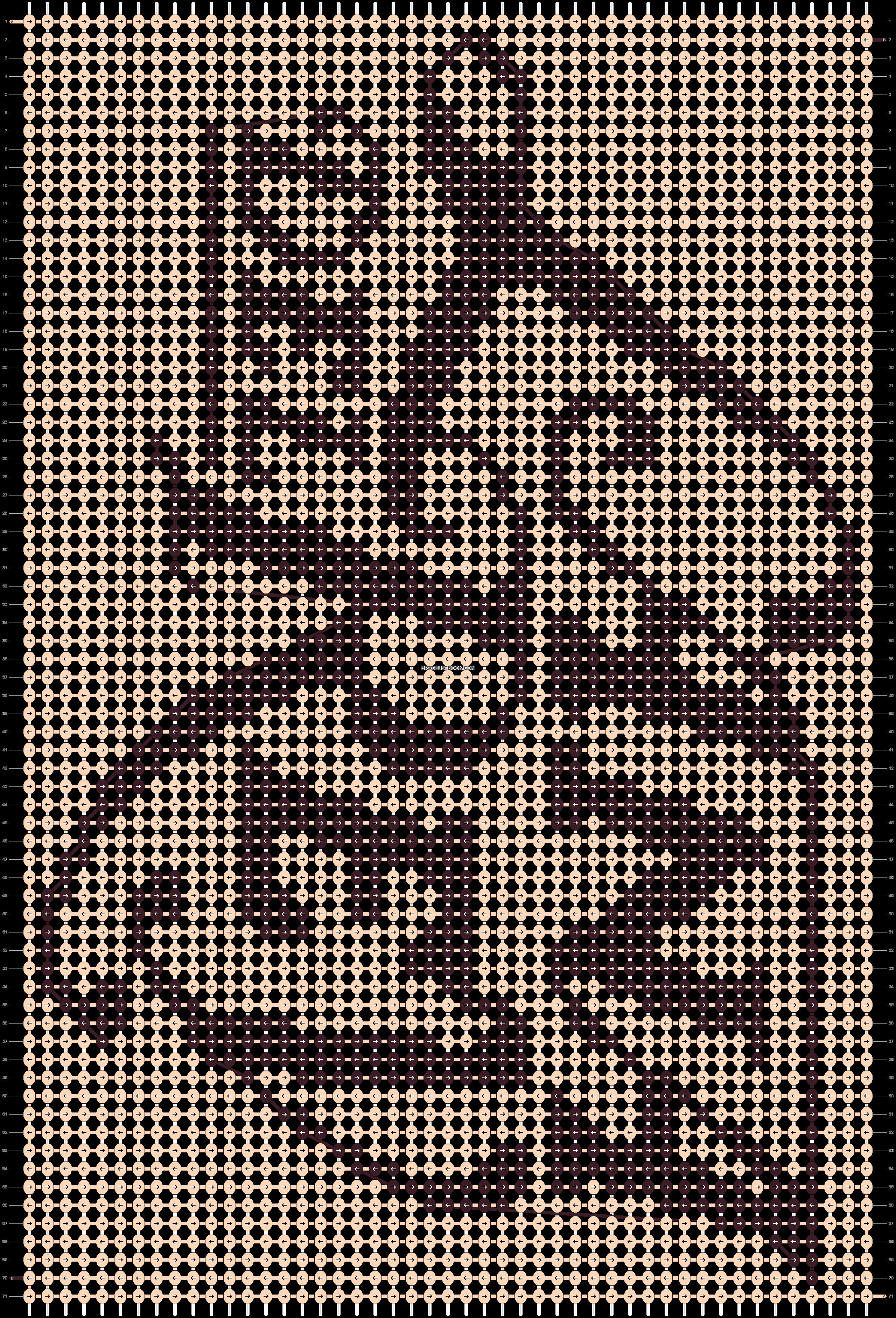 Alpha pattern #8561 pattern