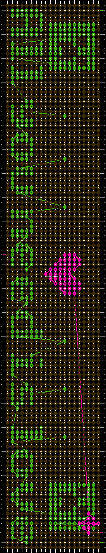Alpha pattern #8565 pattern