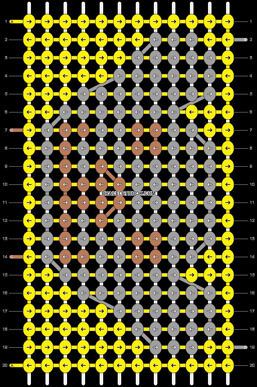 Alpha pattern #8569 pattern