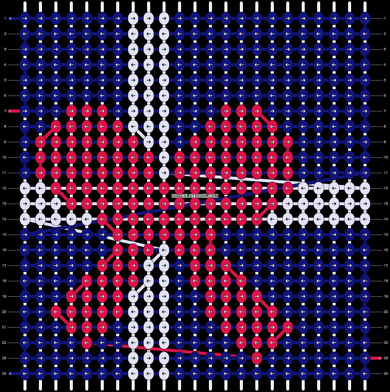 Alpha pattern #8572 pattern