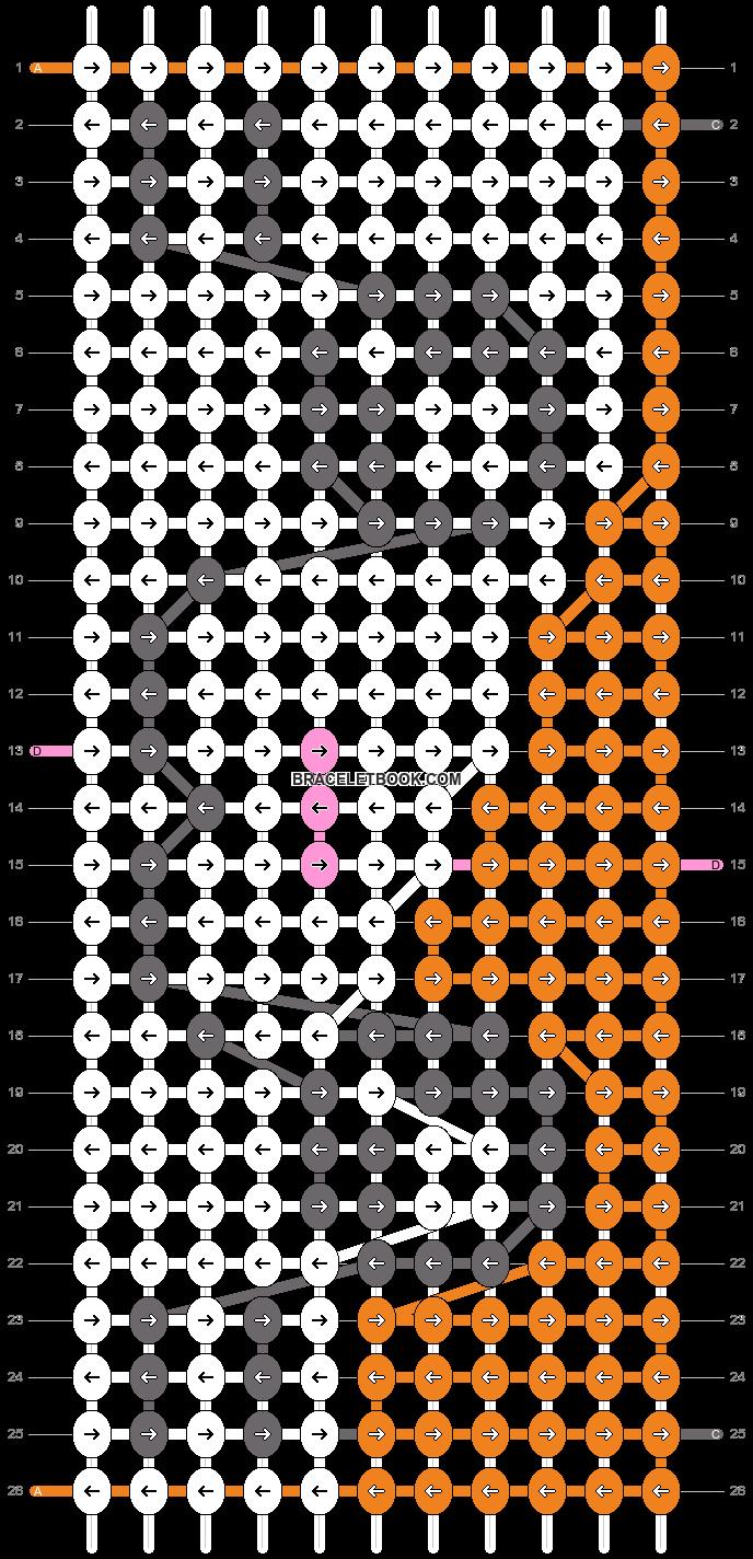 Alpha pattern #8573 pattern