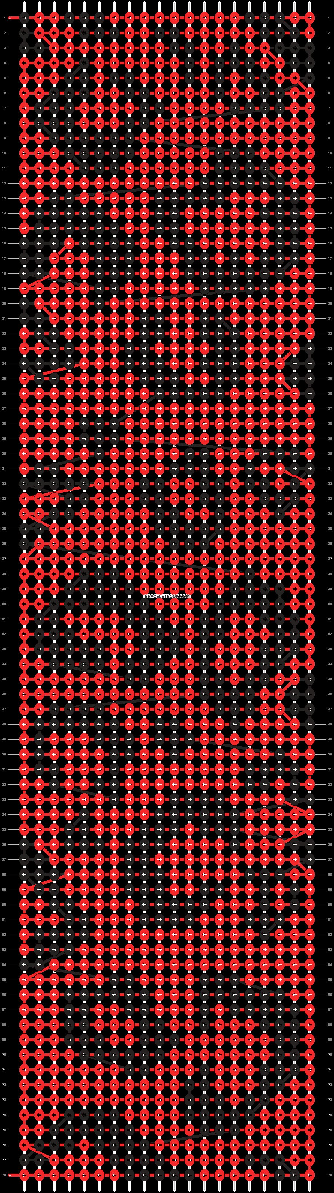 Alpha pattern #8575 pattern