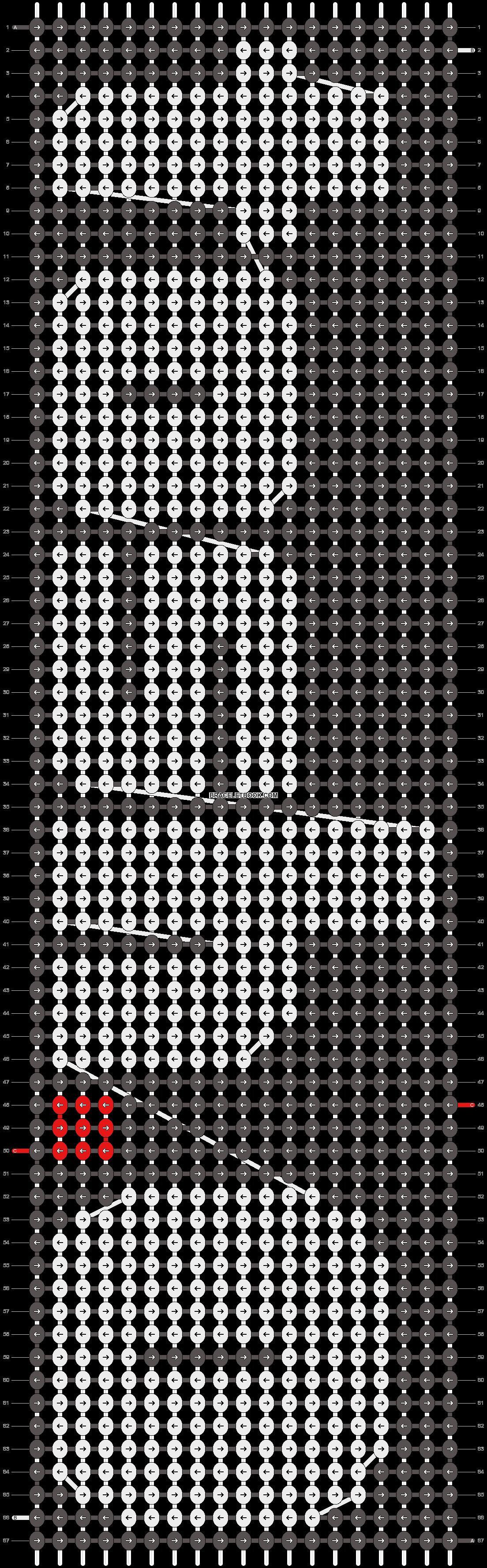 Alpha pattern #8577 pattern
