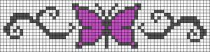 Alpha Friendship Bracelet Pattern #8583