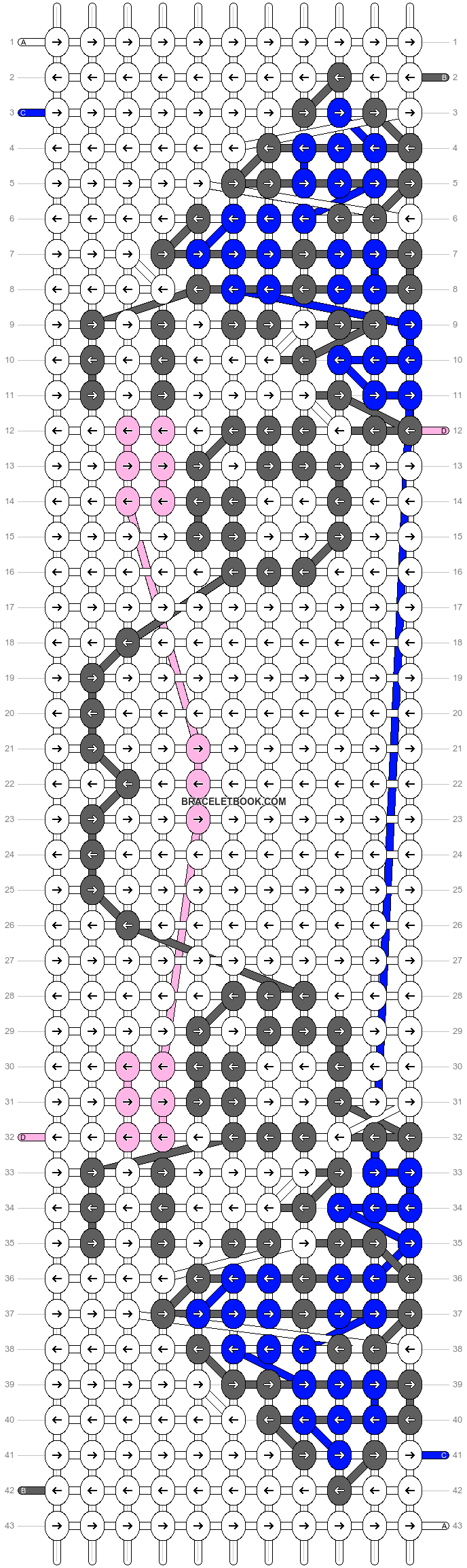 Alpha pattern #8584 pattern