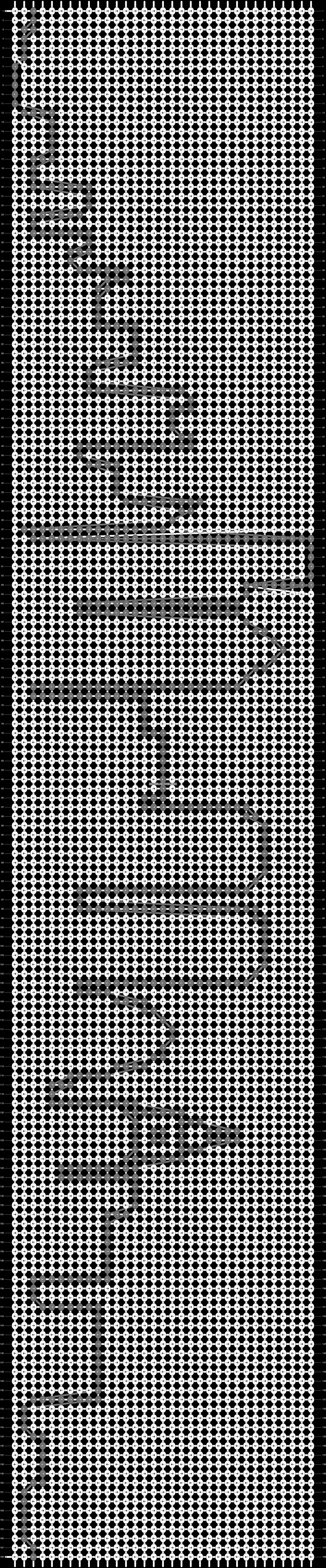 Alpha pattern #8586 pattern