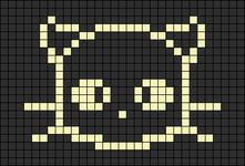 Alpha pattern #8589