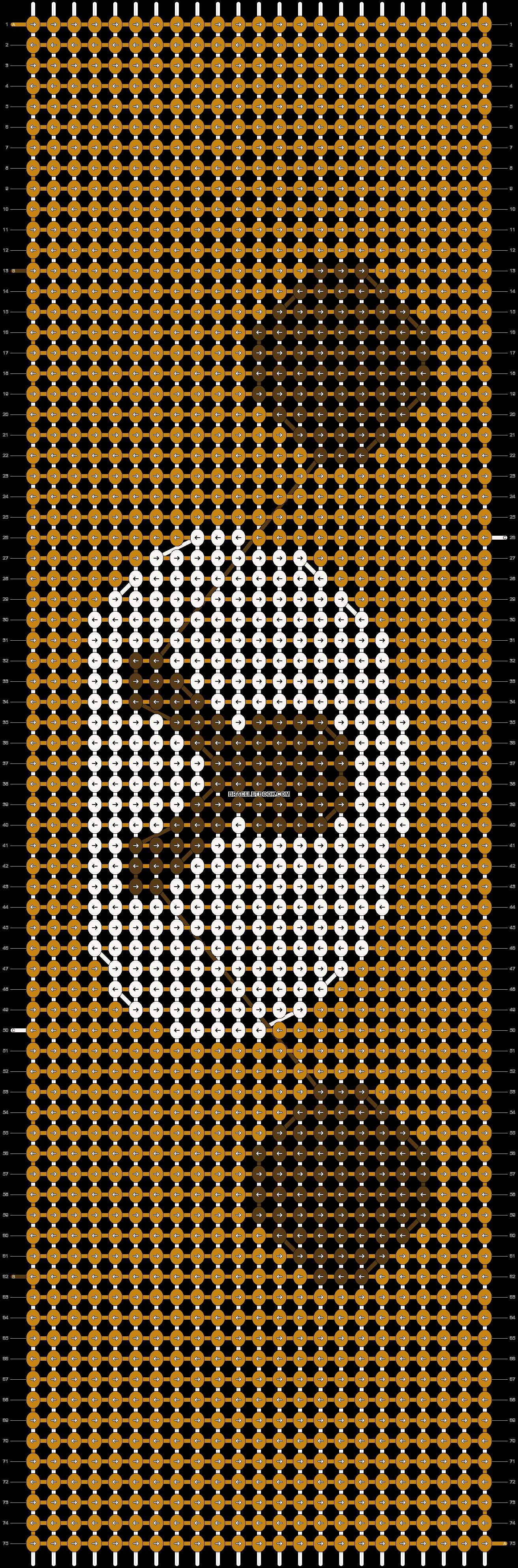 Alpha pattern #8590 pattern