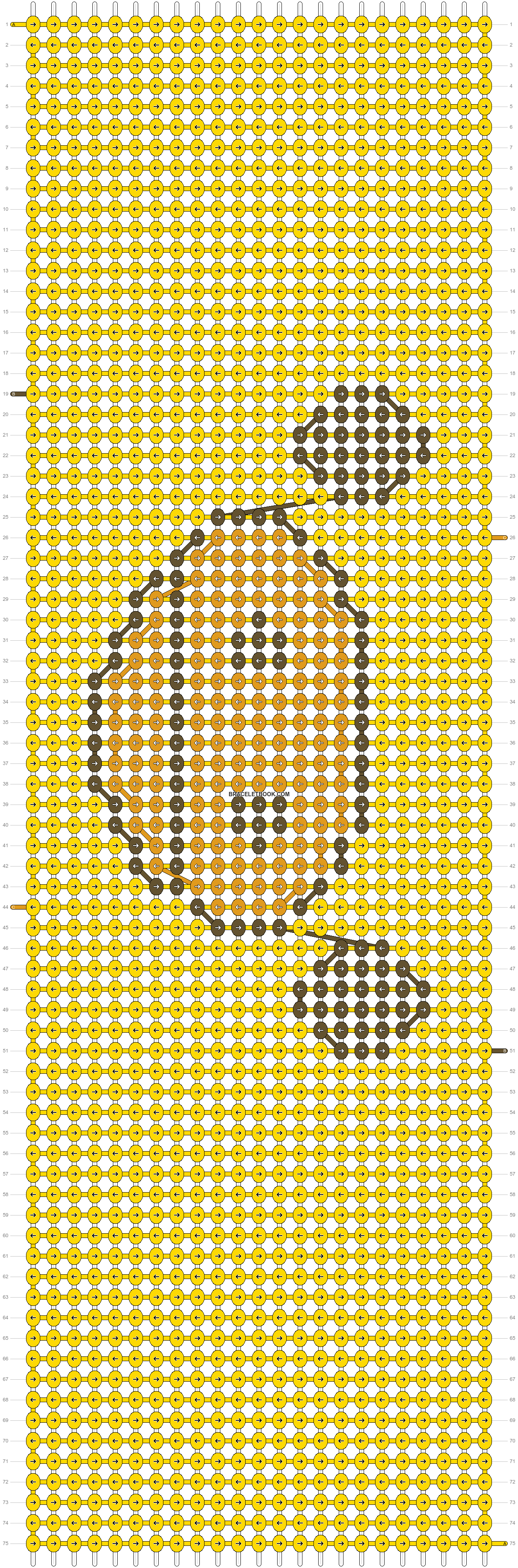 Alpha pattern #8594 pattern