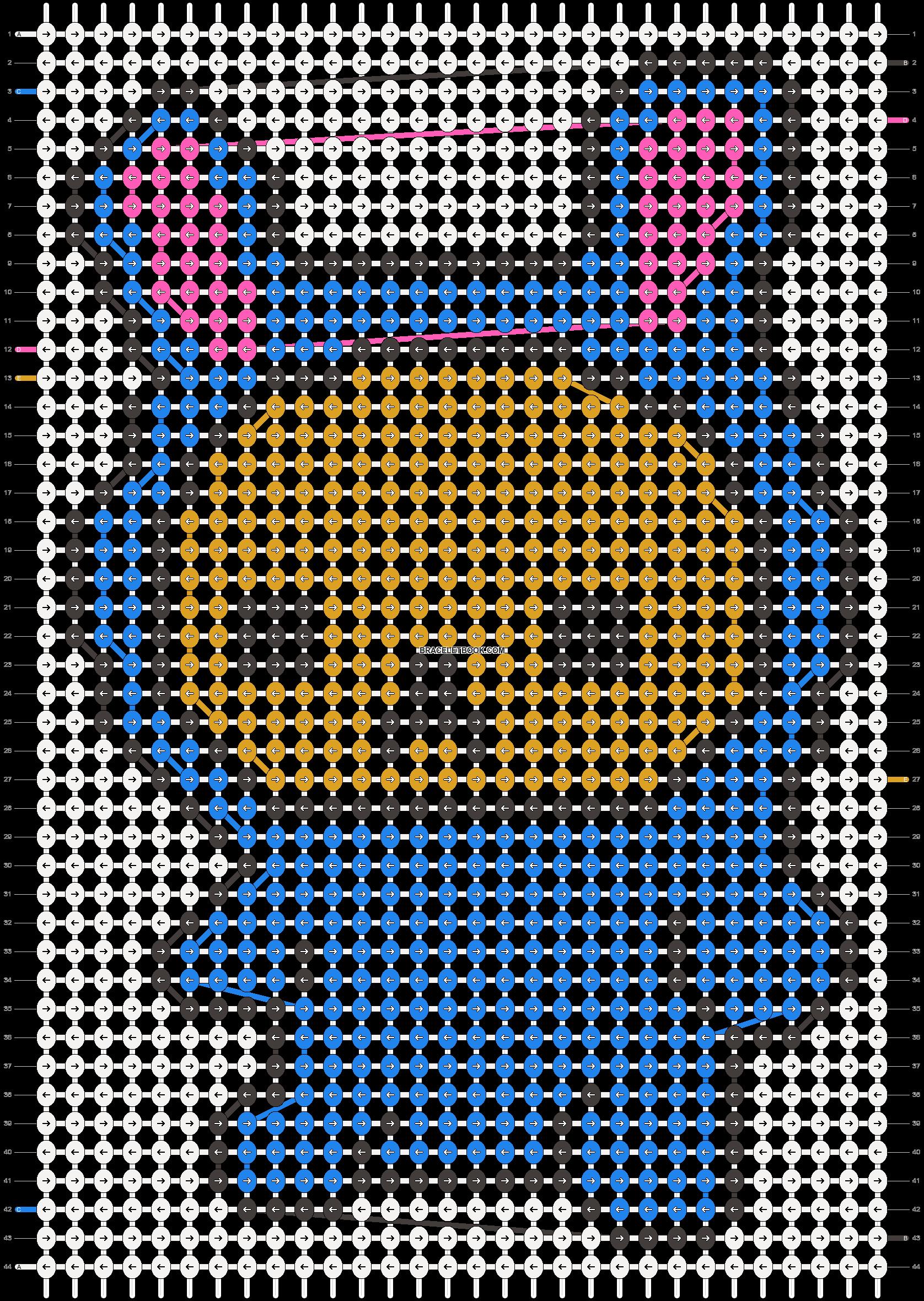 Alpha pattern #8595 pattern