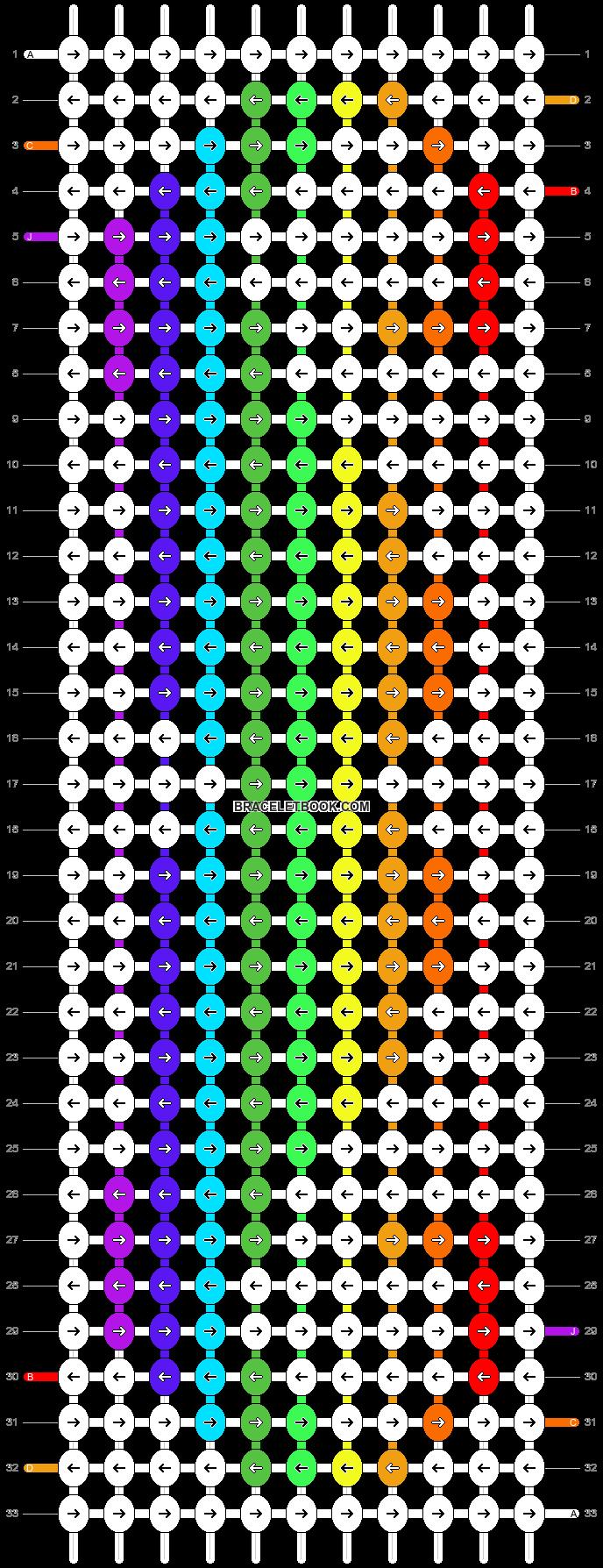 Alpha pattern #8600 pattern