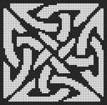 Alpha Friendship Bracelet Pattern #8602