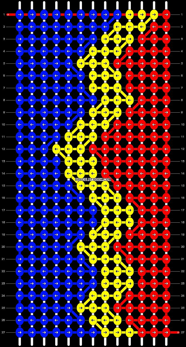 Alpha pattern #8610 pattern