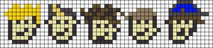 Alpha Friendship Bracelet Pattern #8614