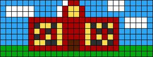 Alpha Friendship Bracelet Pattern #8618