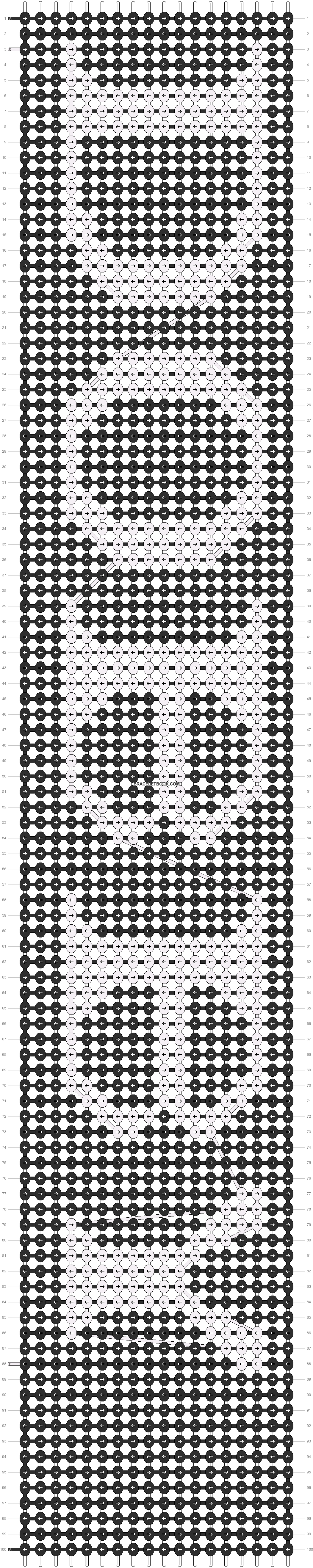 Alpha pattern #8623 pattern
