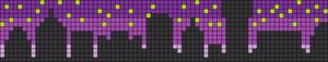 Alpha Friendship Bracelet Pattern #8624