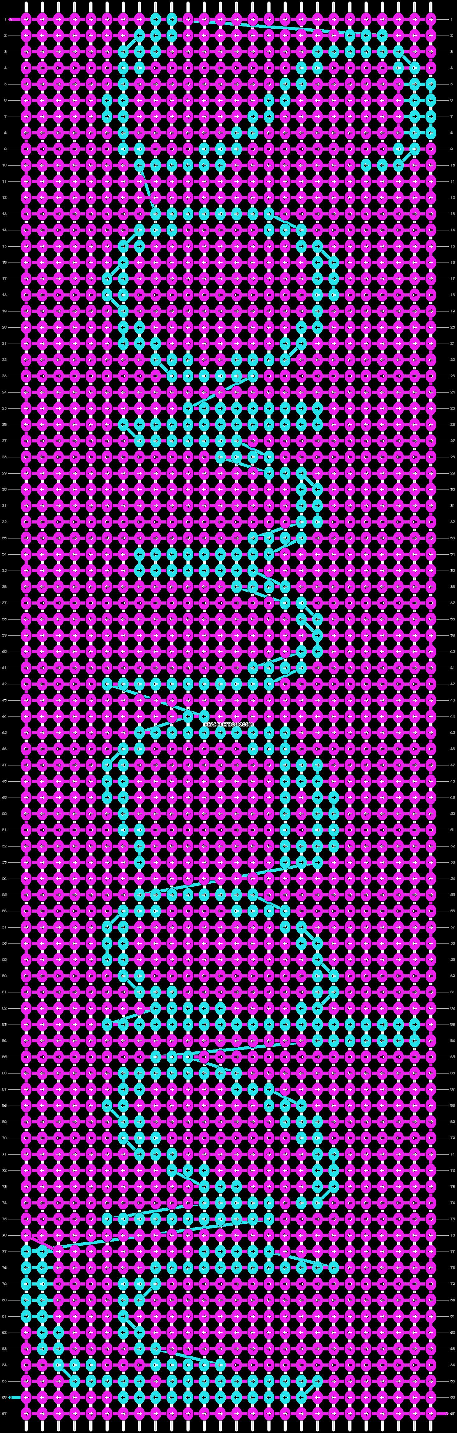 Alpha pattern #8627 pattern