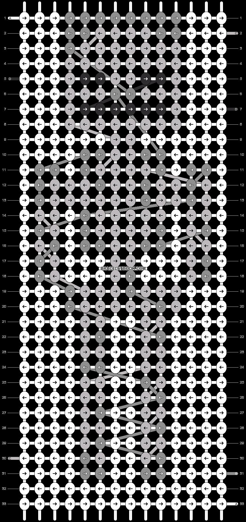 Alpha pattern #8631 pattern