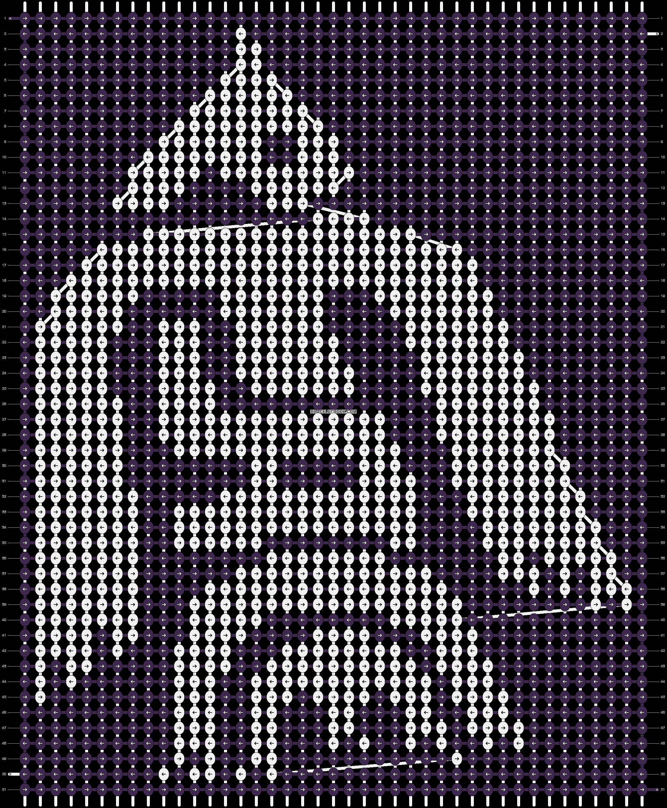 Alpha pattern #8633 pattern