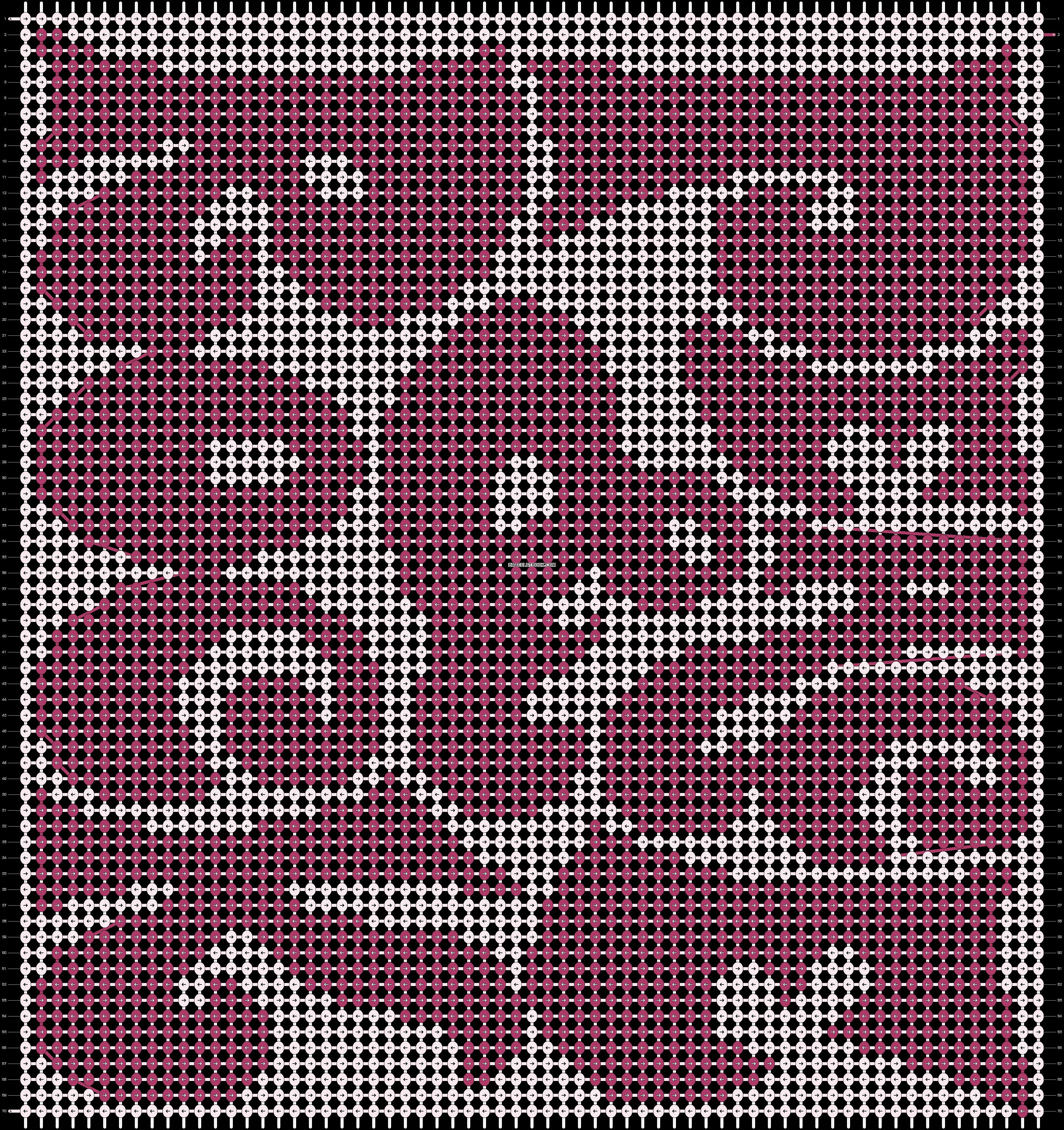 Alpha pattern #8634 pattern