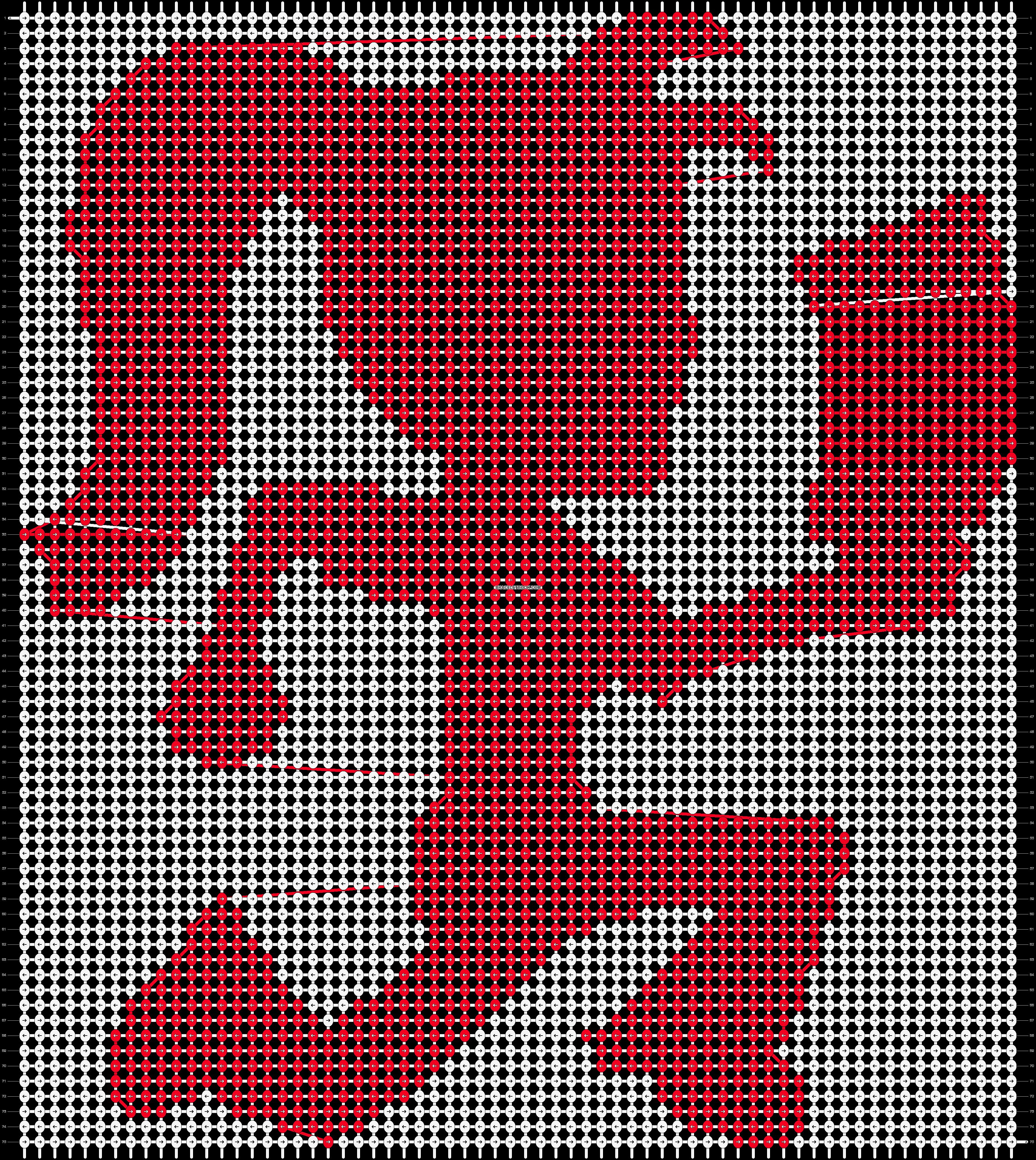 Alpha pattern #8635 pattern