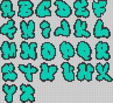 Alpha pattern #8636