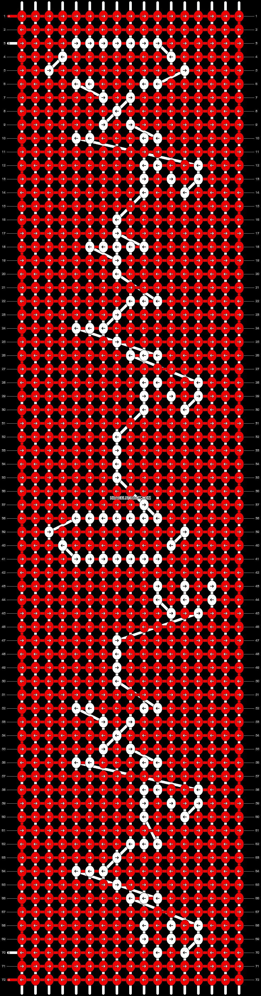 Alpha pattern #8638 pattern