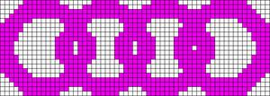 Alpha pattern #8640