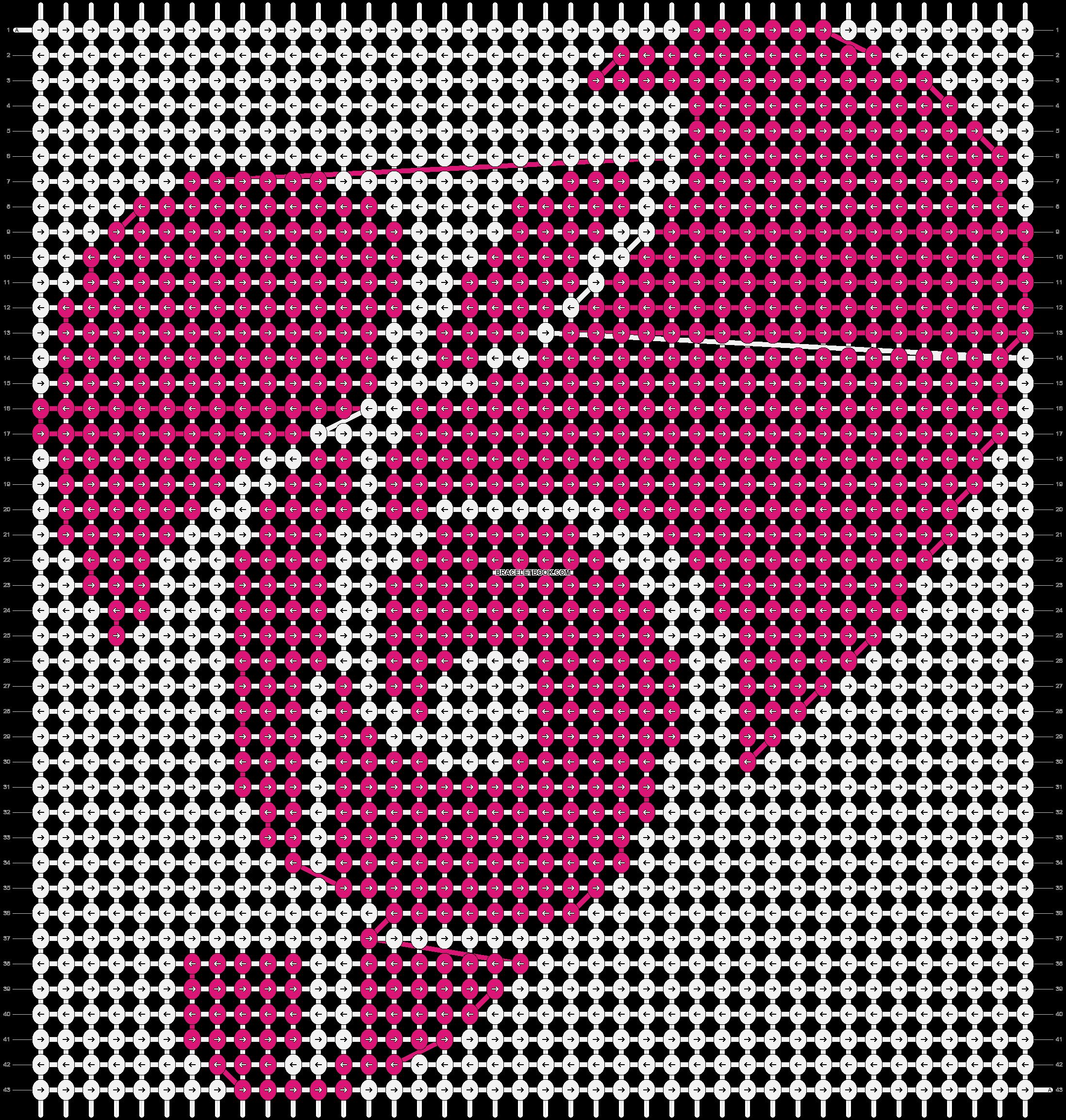 Alpha pattern #8657 pattern
