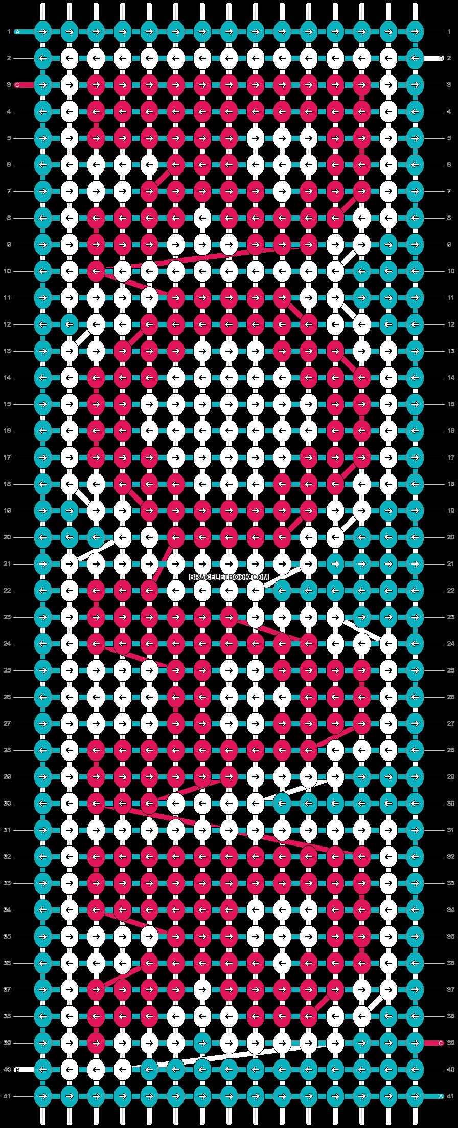 Alpha pattern #8658 pattern