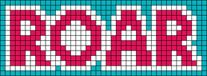 Alpha Friendship Bracelet Pattern #8658