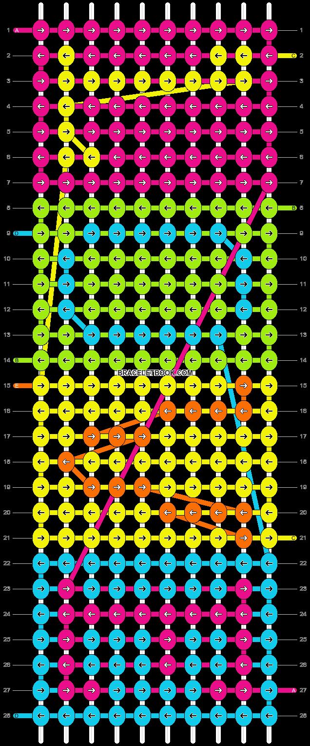 Alpha pattern #8659 pattern