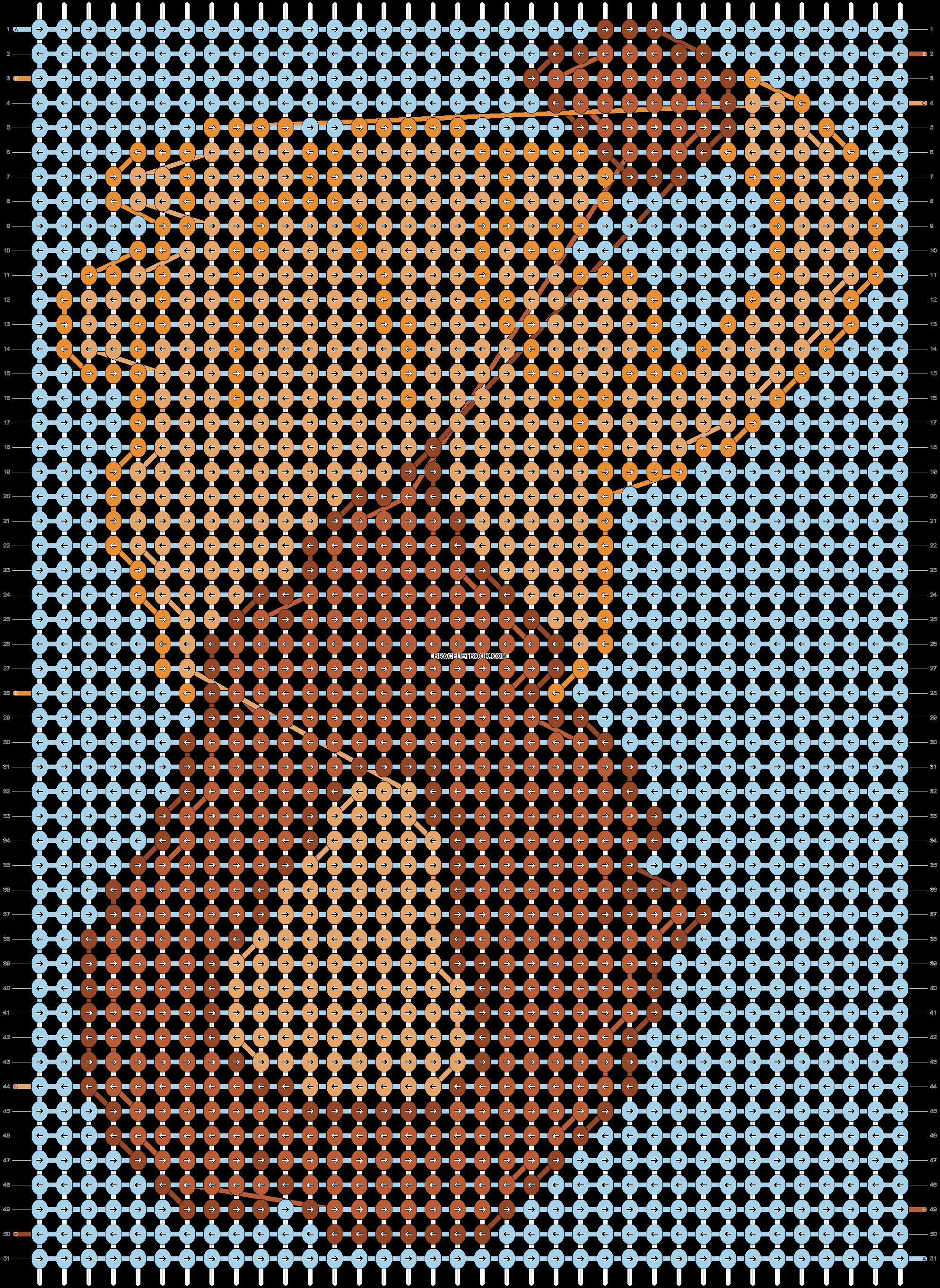 Alpha pattern #8660 pattern
