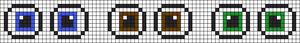 Alpha pattern #8673