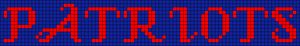 Alpha pattern #8675